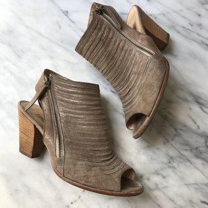Paul Green Cayanne peep toe bootie sandal Sz 6.5